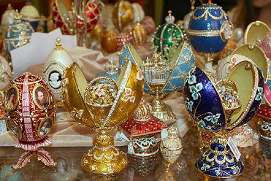 Replicias of Faberge Eggs