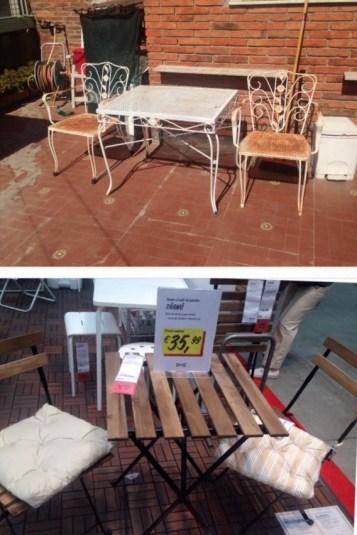 Scegliere un tavolino di recupero o ikea?