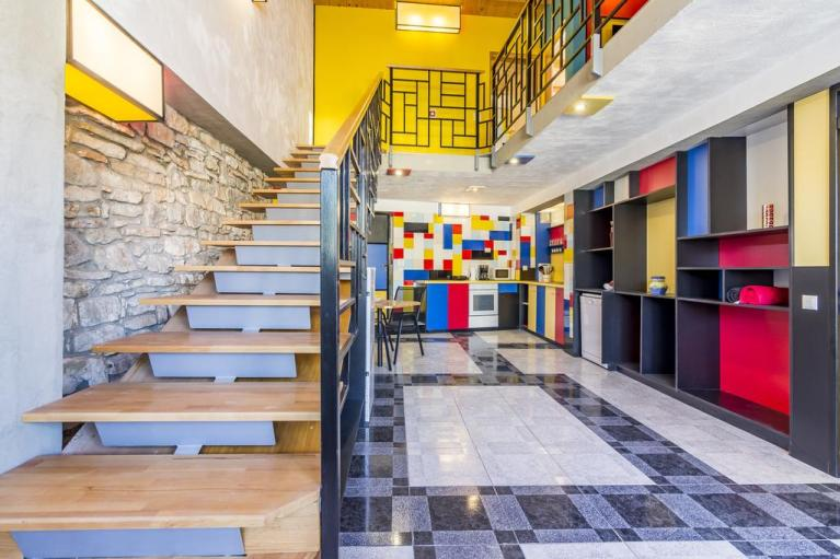B&B in Croazia interamente ispirato a Mondrian