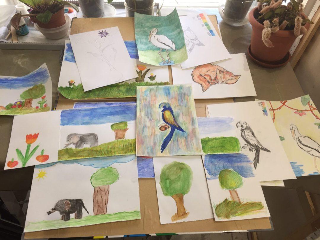 Corso Pittura E Disegno Bambini A Roma Maria Luisa Leoni