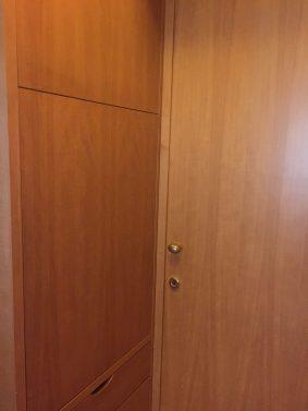 Porta e ante armadio prima color faggio