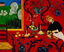 La stanza rossa -Henri Matisse