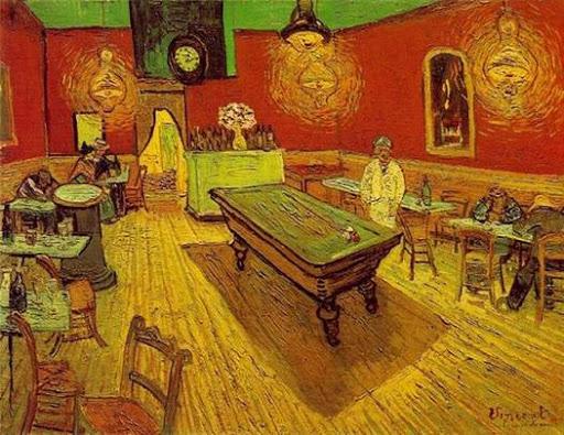 Il caffè di notte Van Gogh