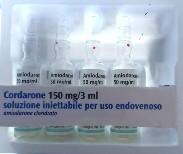 cordarone amiodarone cloridrato