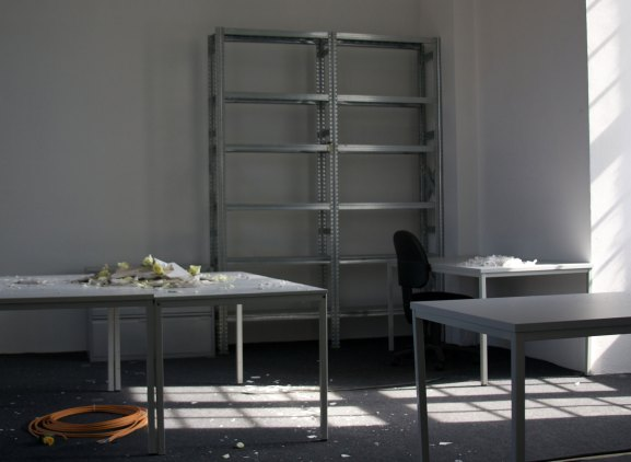 Mariam Ghani, A Brief History of Collapse, Fridericianum