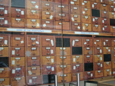 Index of the Disappeared: Parasitic Archive