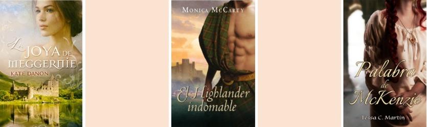 3 Novelas highlanders
