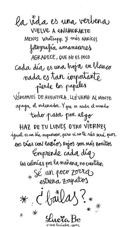Manifiesto de Lucía Be