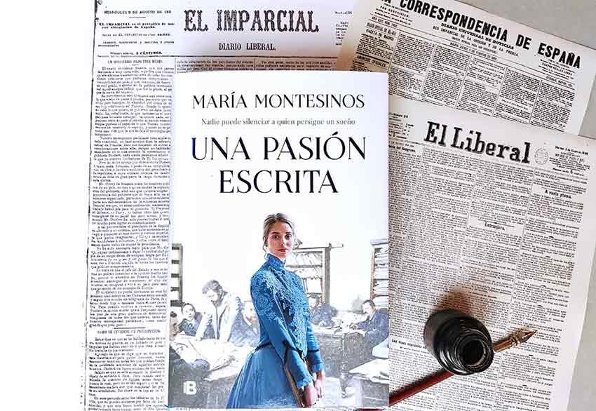 Portada novela Una pasión escrita