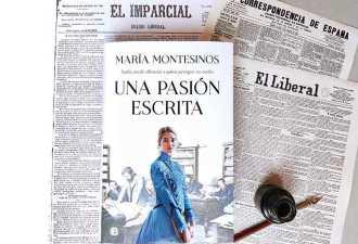 """""""Una pasión escrita"""", el Madrid de las literatas, la prensa y las tertulias de café"""