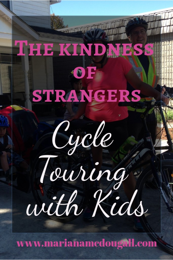 the kindness of strangers: cycle touring with kids