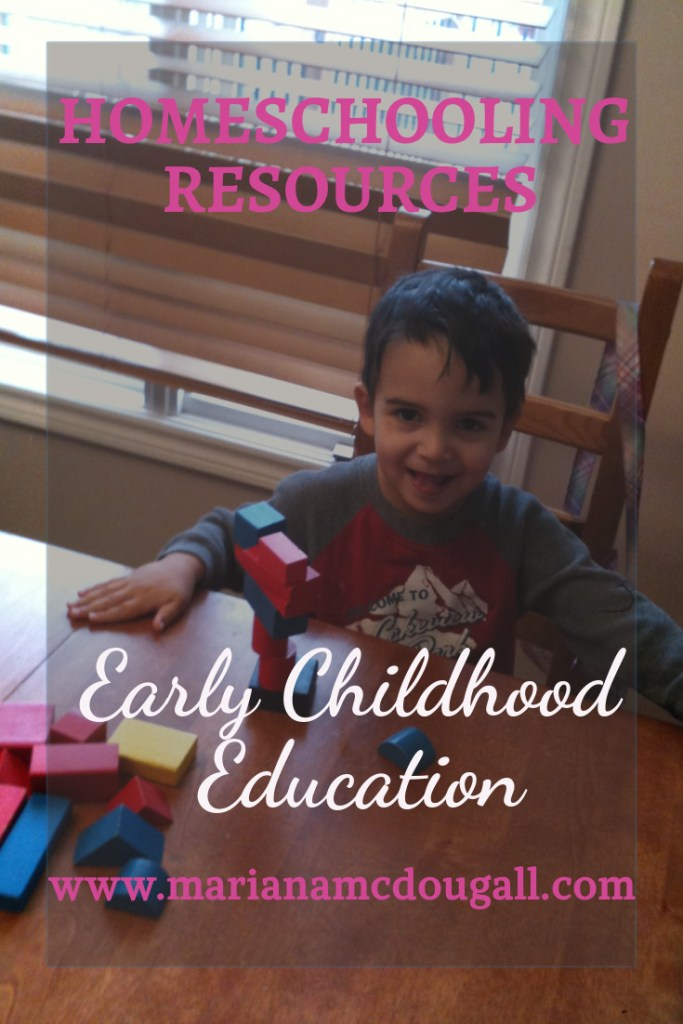 homeschooling resources for early childhood education