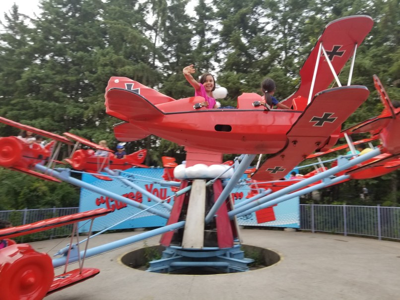 Snoopy vs the Red Baron at Canada's Wonderland