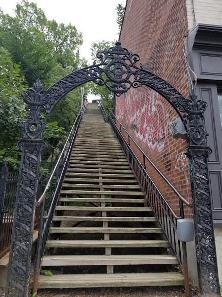 quebec stairway