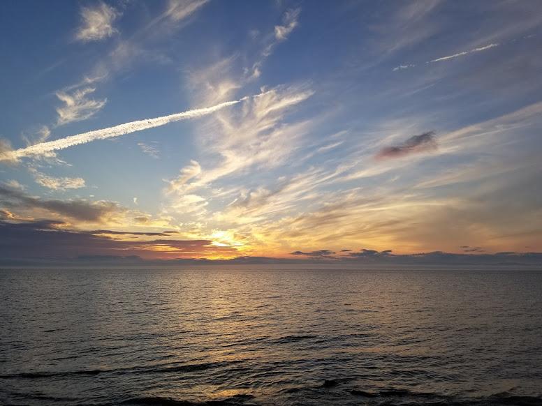 riviere du loup quebec sunset