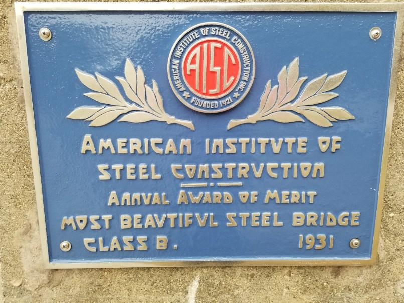 American Institute of Steel Construction Award for Waldo-Hancock Bridge