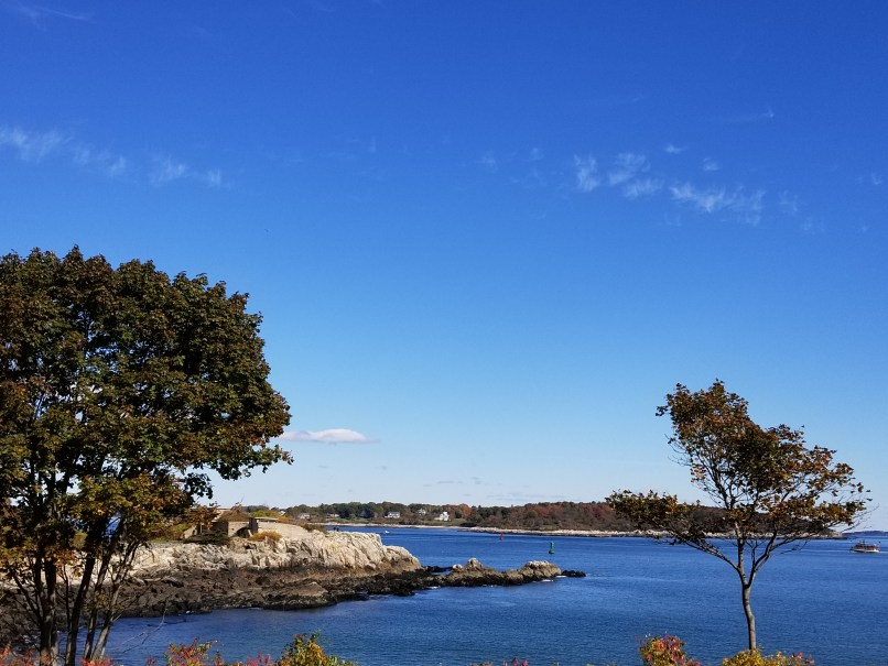 View from Fort Williams, Cape Elizabeth, Maine