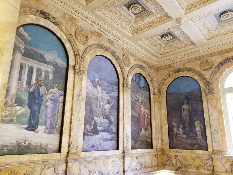 Boston Public Library Art Panels