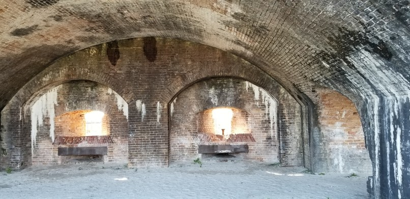 Fort Pickens windows