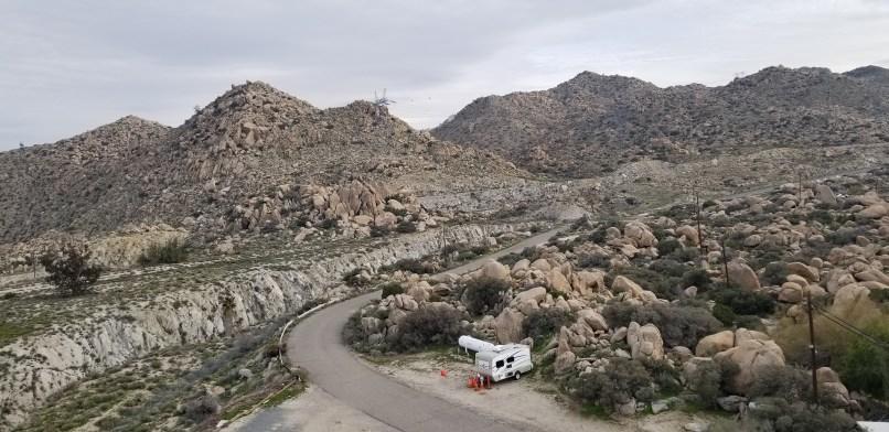 view from Desert View Tower, Jacumba, California