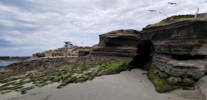 La Jolla Cove rocks