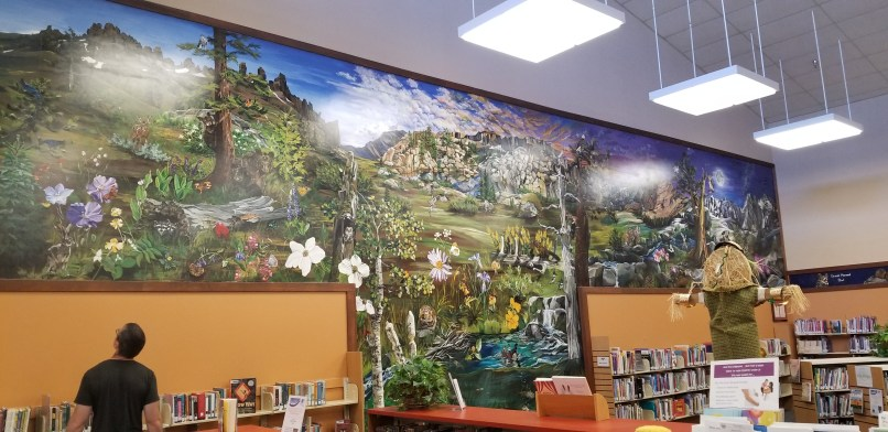 Sonora Public Library Mural