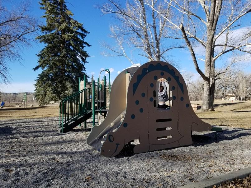 Dinosaur Provincial Park Playground