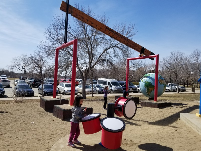Saskatchwean Science Centre Playground