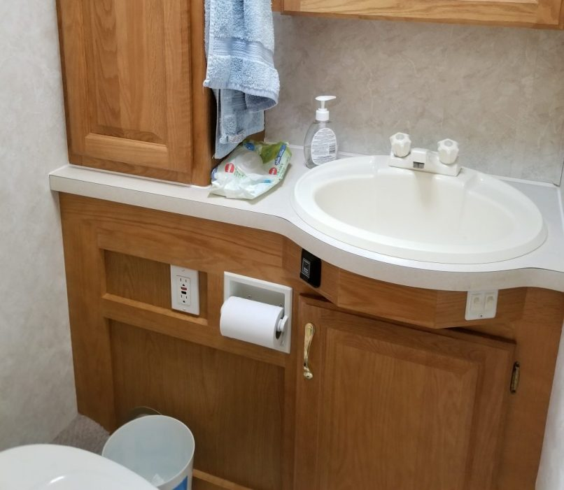 RV bathroom
