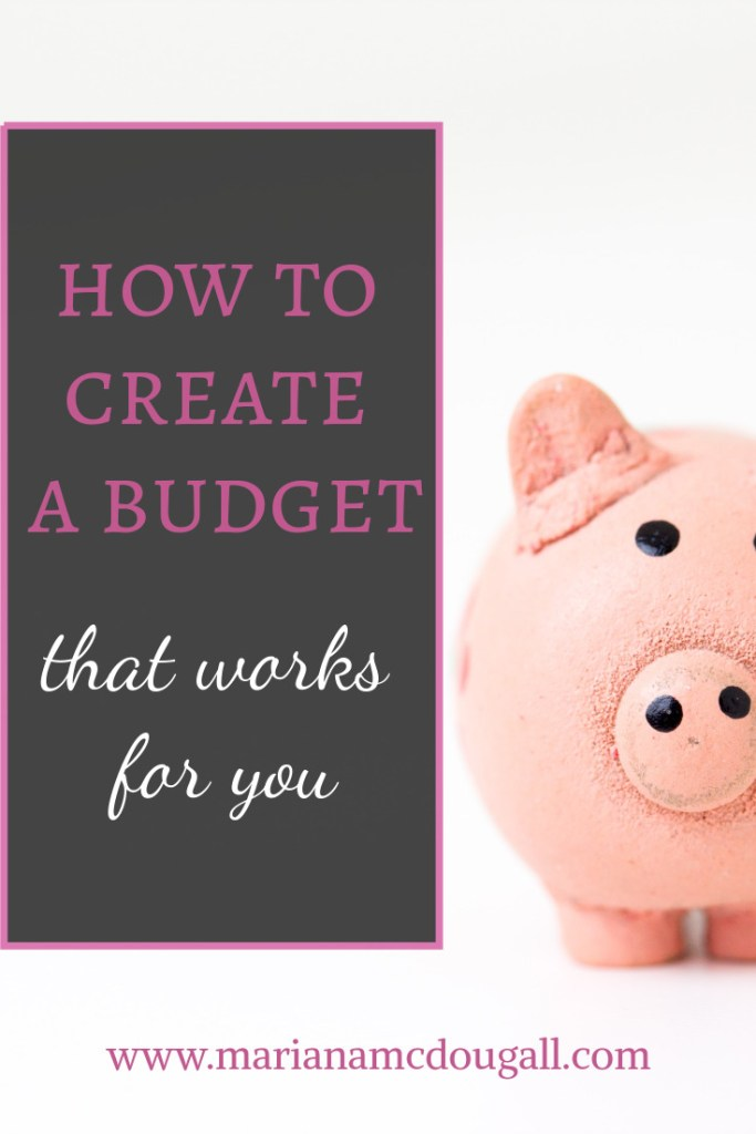 How to create a budget that works for you, www.marianamcdougall.com, Photo by Fabian Blank on Unsplash