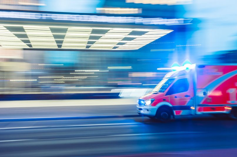 By the time the Canadian Health Care System decides to do something for its chronically ill patients, it's often too late. Picture of Ambulance arriving at hospital. Photo by camilo jimenez on Unsplash