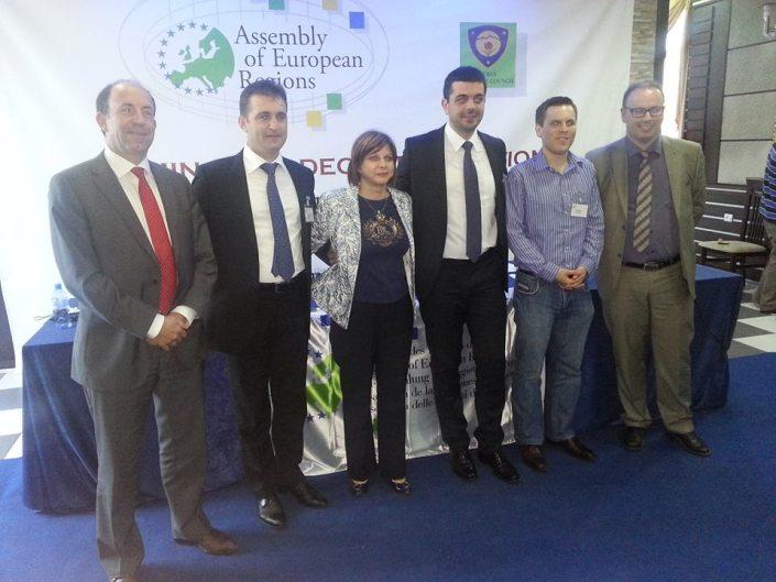 Seminar al Adunării Regiunilor Europene despre descentralizare și regionalizare, Albania, iulie 2013