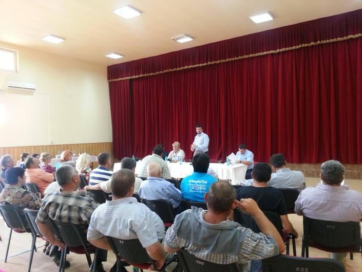 Ședință PNL de macrozonă, Coșteiu, august 2014