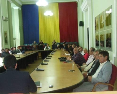 Sedinţă de validare a mandatelor membrilor consiliului de conducere al noii Camere Agricole Timiş, 2013 2