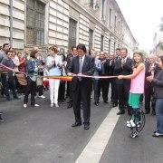 Inaugurarea străzii pietonale Mărășești, septembrie 2012