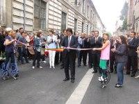 Inaugurarea străzii pietonale Mărășești, septembrie 2012 2