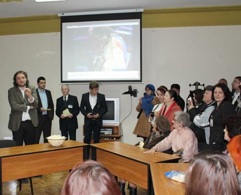 Redeschiderea sediului central al Bibliotecii Județene Timiș, ianuarie 2013