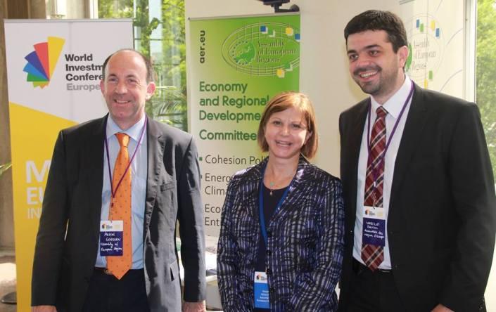 Conferința internațională pentru investiții WIC Europe, Strasbourg, 2013 1
