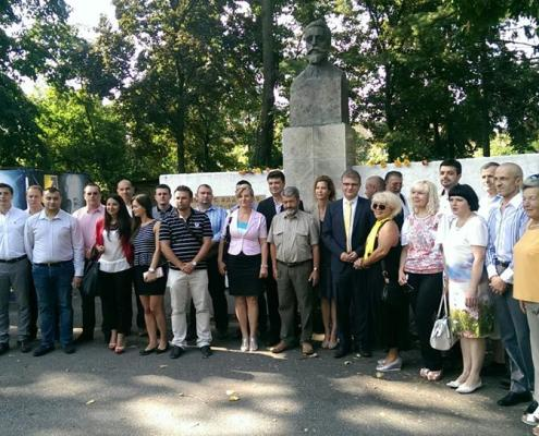 Comemorarea a 150 de ani de la nașterea marelui om de stat Ion I.C. Brătianu, august 2014