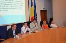 Dezbatere pe tema administrației publice și politicii, UVT, 2015 1