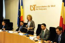 Participare la lucrările Consorțiului Universitaria, Universitatea de Vest Timișoara, 2015 2