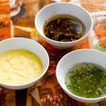 Tilbehøret til grillmaten; sauser, diper og smakfulle marinader