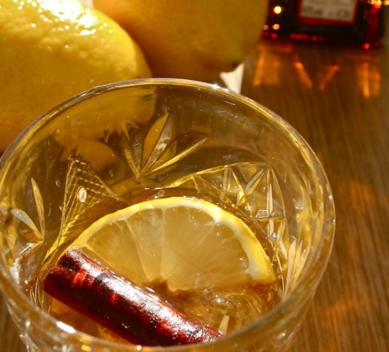 Ingeniørfruens drink: rom med appelsinlikør