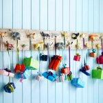 Lag selv julekalender til barn av gammel planke
