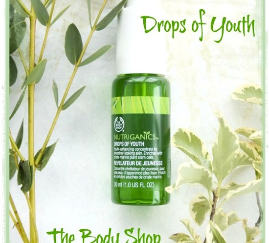 Ingeniørfruens nye Drops of Youth fra The Body Shop