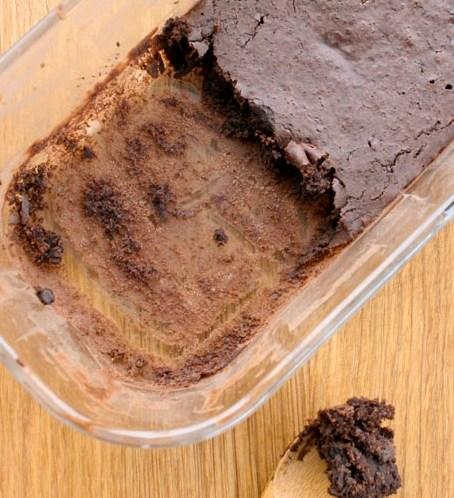 Ingeniiørfruens cake in a cup i stekeovn