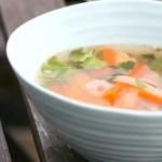Thaisuppe med reker (270-300 kcal)