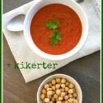 [MAT] PÅ BUDSJETT: Tomatsuppe/Vegetarisk kikertgryte (kr 14,02)