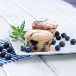 [LØRDAGSGODT] Blåbærmuffins uten sukker