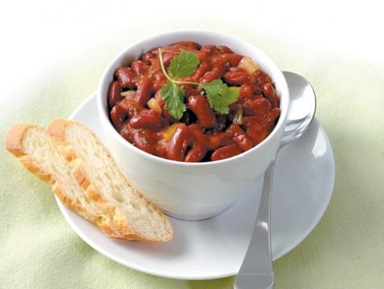 Vegetarisk Chili con Udo med omega 3, 6, og 9 på kjøttfri mandag hos Ingeniørfruen